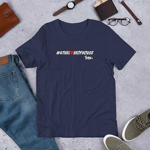 #4thelove Short-Sleeve Unisex T-Shirt
