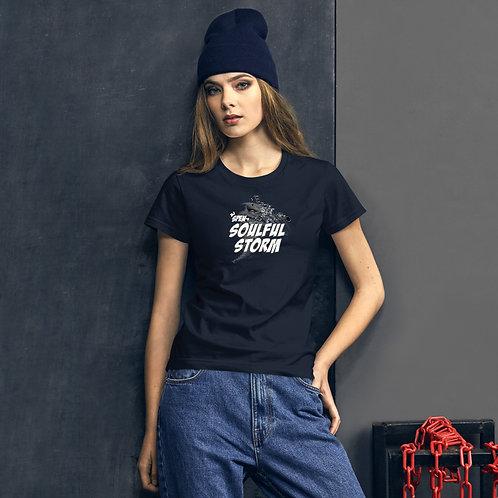 Soulful Storm Women's Short Sleeve T-shirt