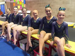 Excel Gold's waiting to perform their floor routines!