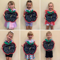 Kiddos on their first day of preschool! Check out what they want to be when they grow up.