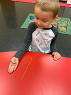 Learning numbers by creating them with string!