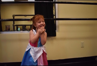 All smiles at Pretty Princess camp!