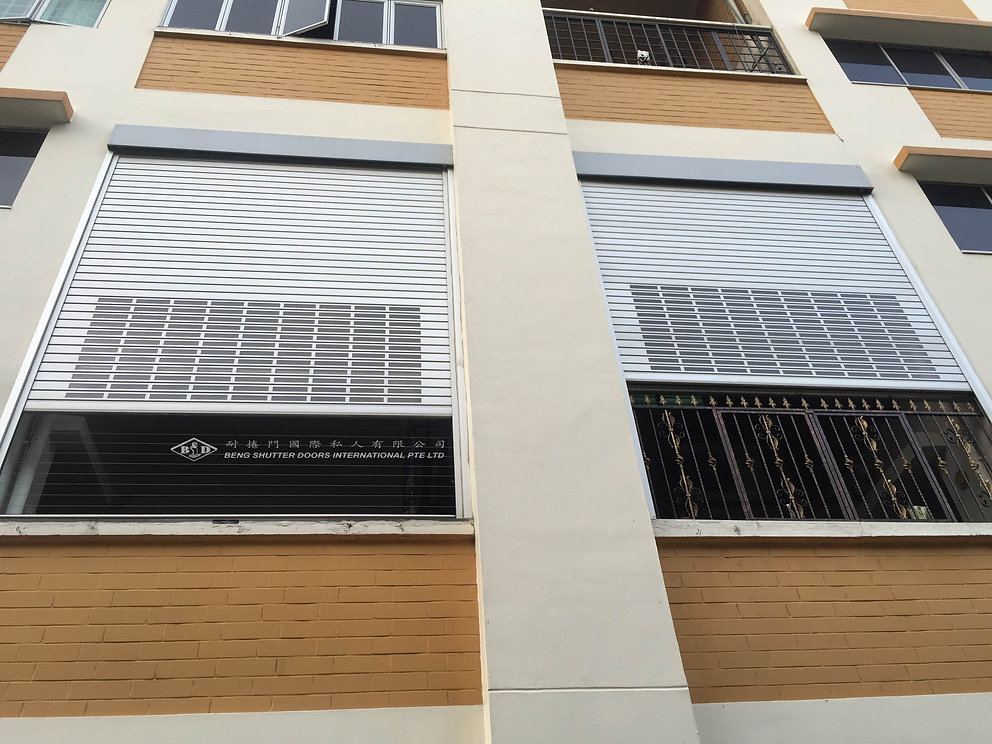 Window HDB balcony Executive Maisonette Roller Shutter