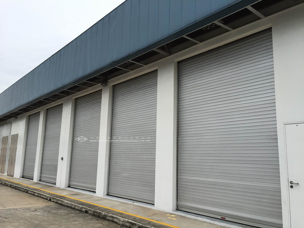 Heavy Duty Roller Shutter Singapore
