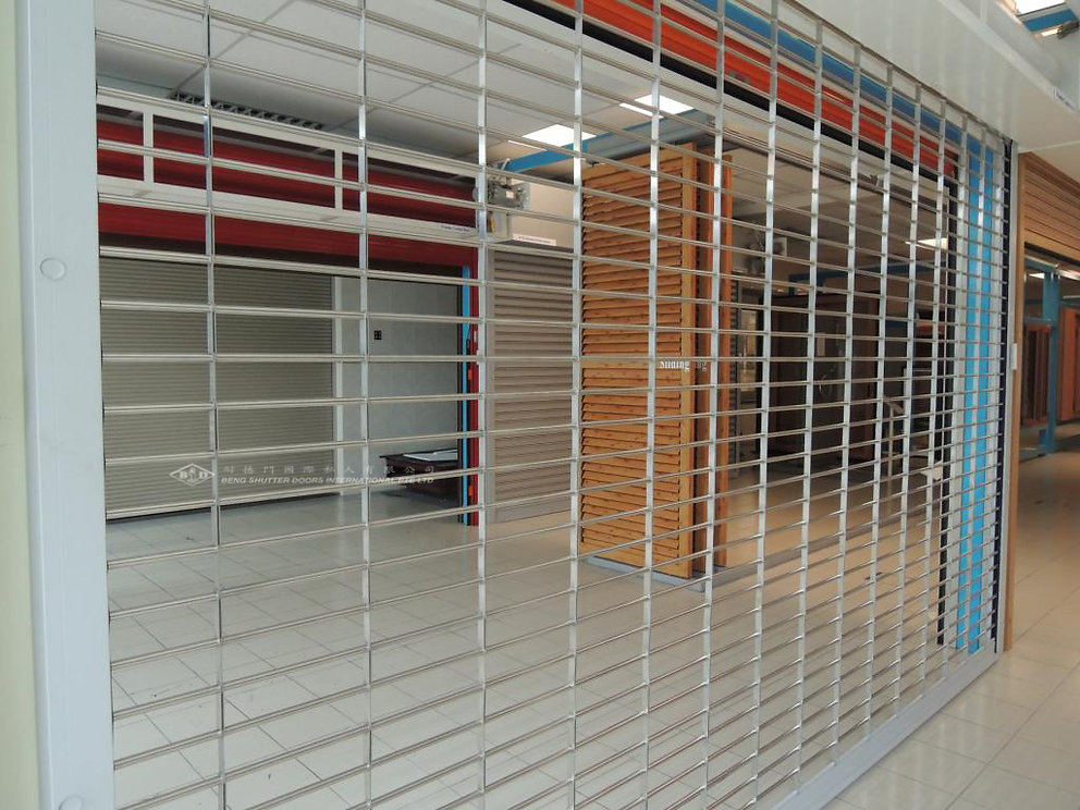 Roller Grille Security Roller Shutter Singapore