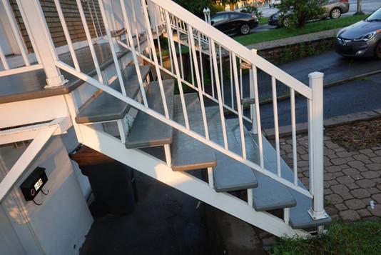 Rafraîchissement peinture de balcon