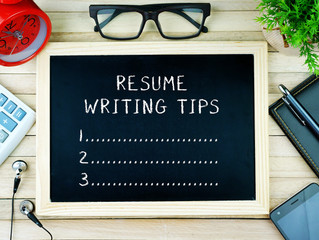Resume Strategy Tip #1