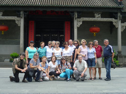 Viaje a la China con amigos
