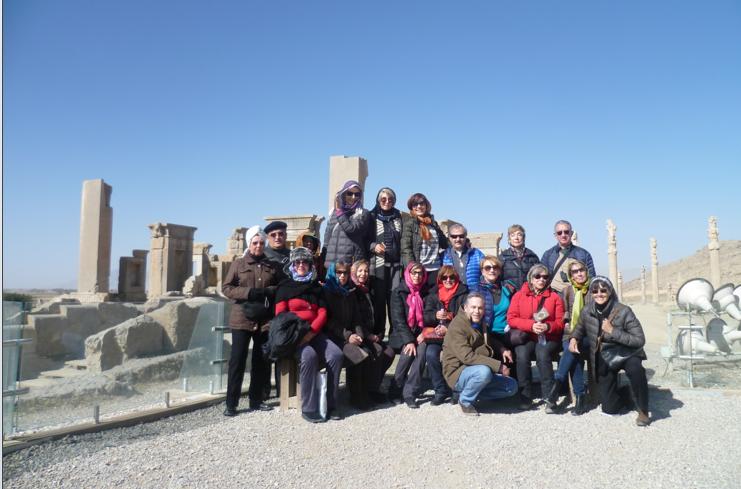 Persépolis, capital de Persia