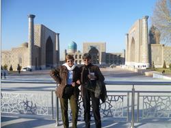 Plaza Rehistan - Samarkanda