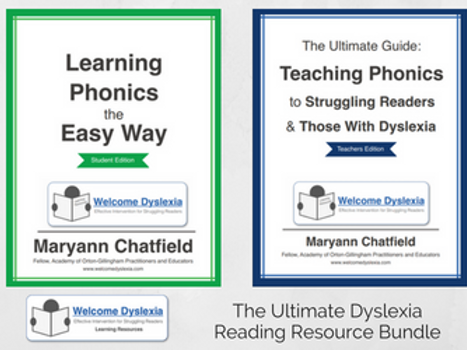 The Ultimate Dyslexia Reading Resource Bundle