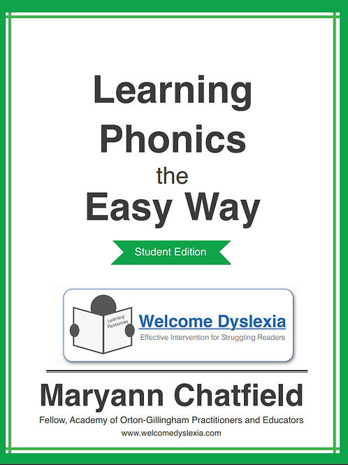 The Student Guide: Learning Phonics the Easy Way