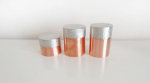 有容銅茶倉-水滴/斜紋