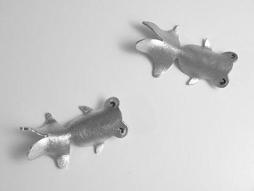 金魚、蝴蝶匙置