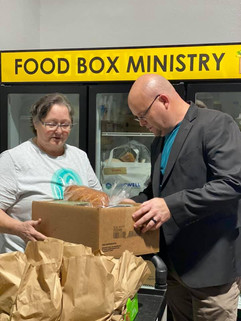 Food Box Ministry in action!