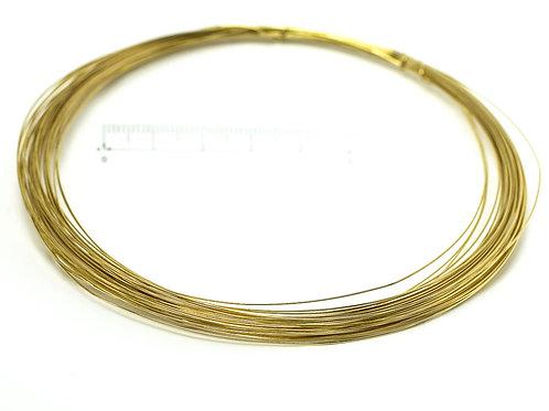 シルバーワイヤー14.5gゴールド