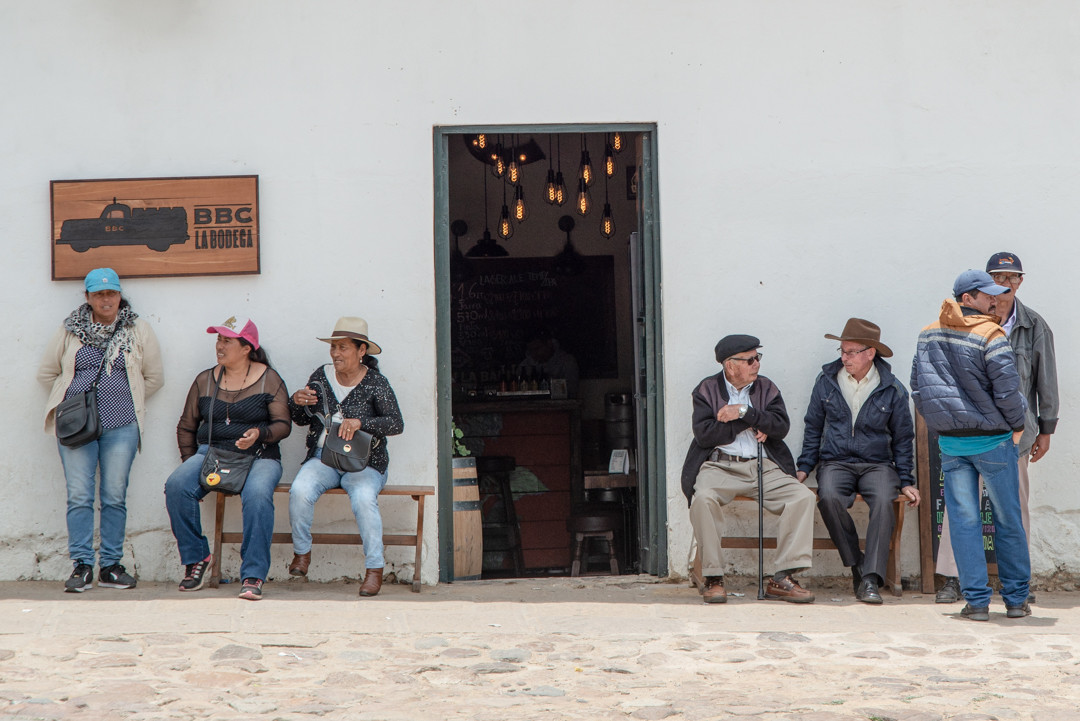 And so the day goes by... Villa de Leyva, Colombia