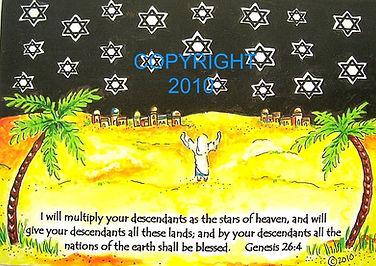 Messianic card