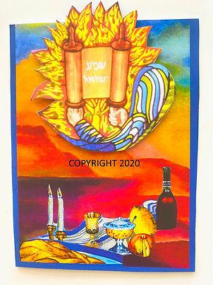 Messianic new year card