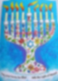 messiainic chaukah card