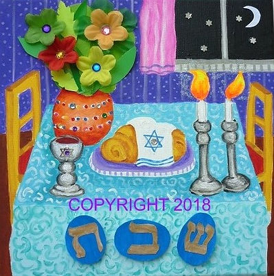 Jewish art, messianic art