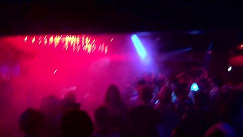 DJ'in at Gravity Nightclub