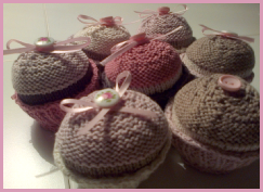 Knitting Pattern for Cupcakes