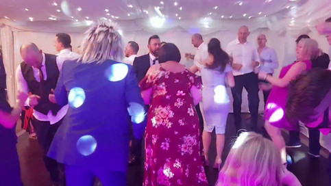Dancing to Baggy Trousers at Wedding, Bristol