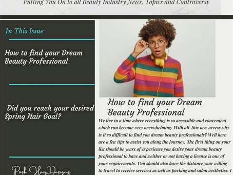 How to find your Dream Beauty Professional