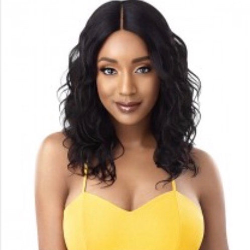 100% Human Hair Lace Part Daily Wig
