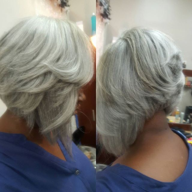 And I will always 😋😎🤗 #slay a #silverfox #bobcut#boblife #sewinweave #dmvstylist #hair#outre #sta