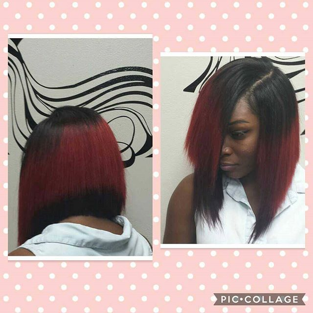 Razor Cutting is my ❤❤ Love this Bob_  Book Now 👇 www.taneashahines