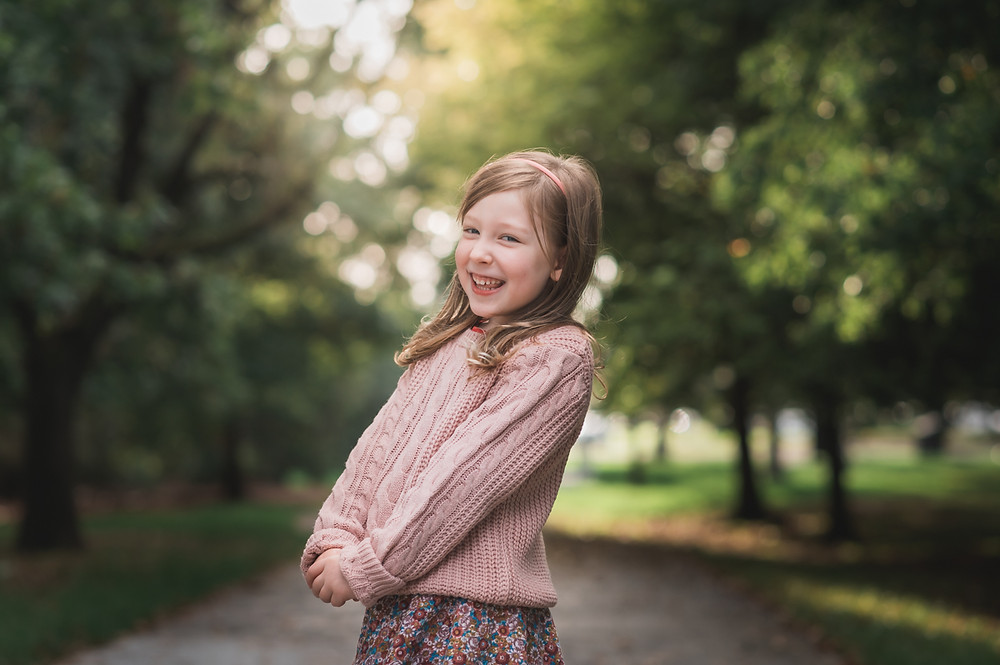 lifestyle portrait of a child in golden light. family photography melbourne