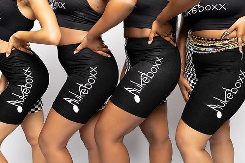 Jukeboxx Checker Shorts