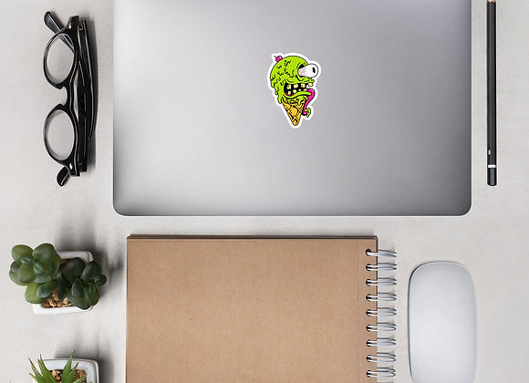ICE CREAM MONSTER Bubble-free stickers