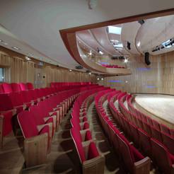 Concert Hall in Prague Conservatory