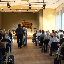 at Professors' Concert in Wuppertal