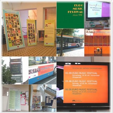 Advertisings in cities