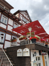 a restaurant in the town