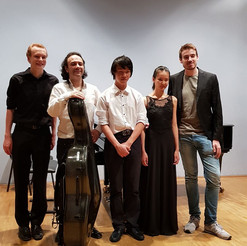 After chamber music concert
