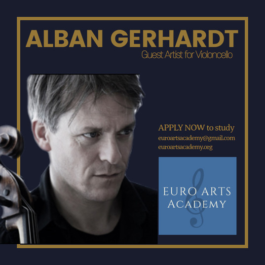 Cellist Alban Gerhardt