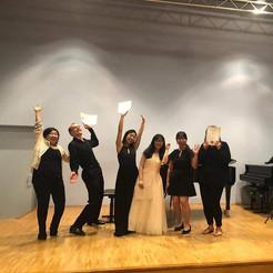 After the chamber music concert