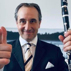 Johannes Gmeinder, Clarinet
