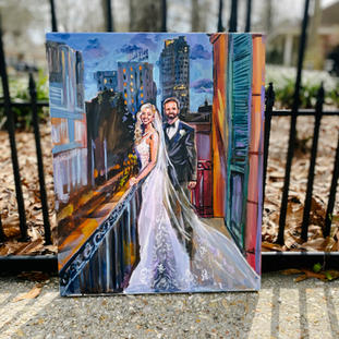Live Wedding Painter Chicago