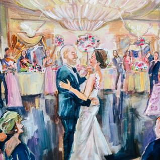 WEDDING PAINTER HOUSTON