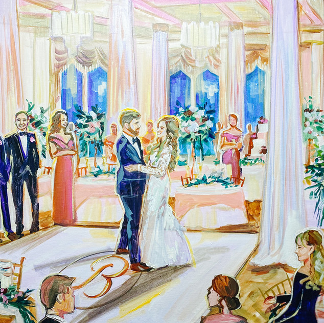 UTAH WEDDING PAINTER