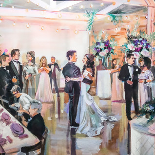 WEDDING PAINTER CHICAGO