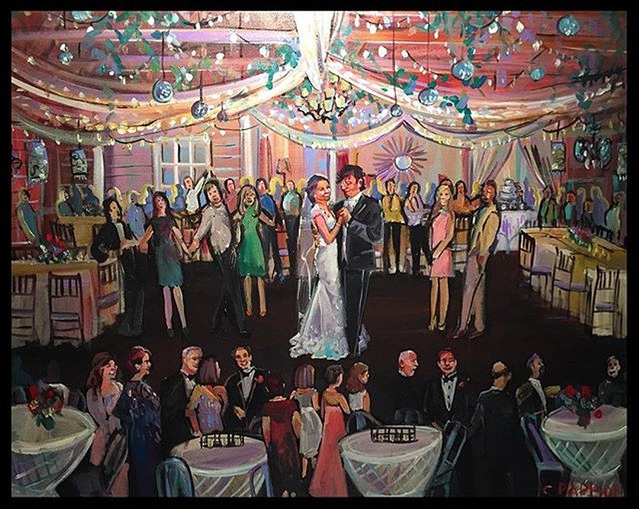 Wedding Reception Painter New Orleans | LIVE COMMENTS