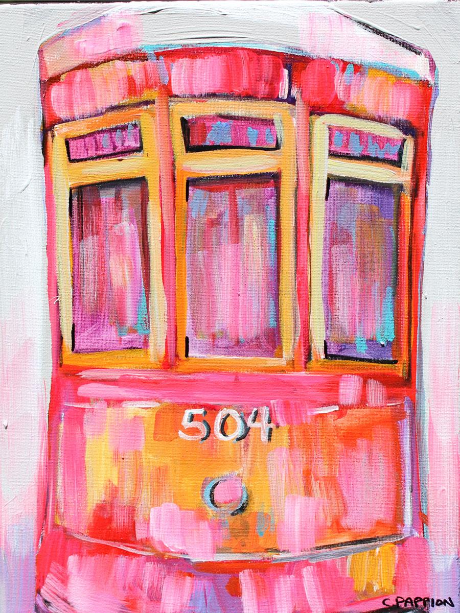 Pink Streetcar