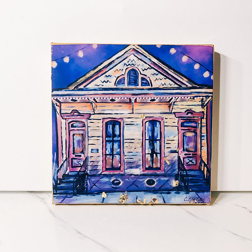 FLASH SALE 8 x8 inch Courtyard in Marigny